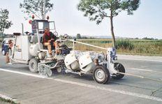 H33 mit Druckbehälter im Niederdruckverfahren (Airspray)