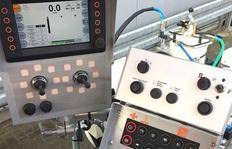 Ordenador a bordo y electrónica de con¬trol de longitud trazo-intervalo MALCON4