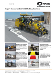 Brochure Airport Runway and
