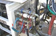 Fácil sistema paletizable (intercambiable) con cierres rápidos eléctricos y hidráulicos (conexiones para sistemas termoplasticos)