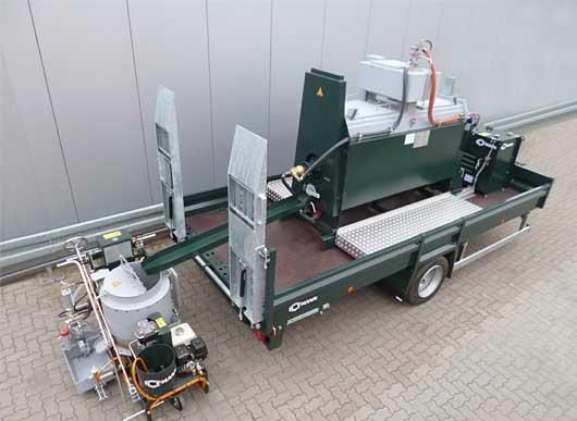 RP100-1H Série HG / H4270-2 avec RP100-1H et HK1000-1 avec poste d'énergie 10,0 kW
