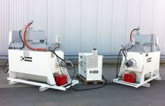 HK800-1 (2 x) con quemador de gasoil, estación de energía de 10 kW