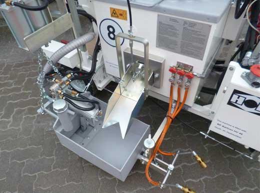 H10 für Thermoplastik mit offenem Thermoplastikmarkeur, 30cm