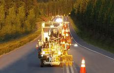 H18 Airlessverfahren mit Pumpe (AMAKOS®), M98:2 in den Rocky Mountains