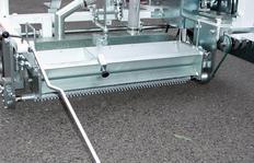 2K60A: 60 cm Agglomeratstrich für Zebrastreifen