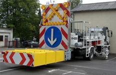 Crash Absorber System zum Anbau an LKWs