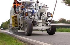 H26 Road marking machine for sprayable 2-component cold plastics using the Airless method (AMAKOS<sup>®</sup>), M98:2