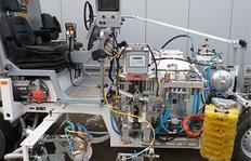 CONEX® pompe de dosage avec portion de durcisseur réglable en continu pour des machines equipées pour l'application Airless d'enduits à froid pulvérisés 98:2