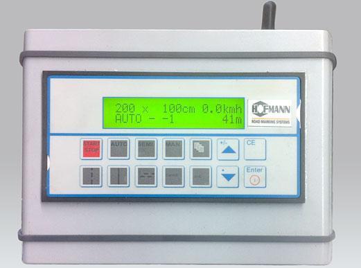 ELC1 Strichteilungs-Elektronik für handgeführte Maschinen zur Ansteuerung eines Magnetventils (z.B. für eine Farbpistole)
