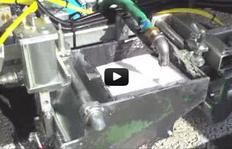 H26-3 – enduits à froid 2 composants – pompe de soufflet – sabot pour traits profilés – système d'échange rapide – M98 :2