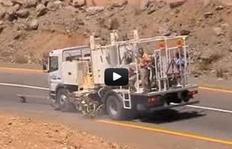H75-1500 - pinturas termoplásticas proyectables - depósito presurizado - Yemen