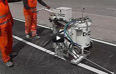 H8-1 - Kaltfarben - Airspray (Niederdruck) - Rollscheiben - Perlpistole - Qatar