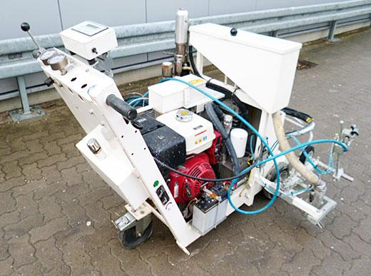 H9 Airless - Road marking machine for cold paints with Airless pump