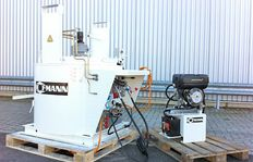 """D350 with propane gas burner, 3.1 kW power station	"""