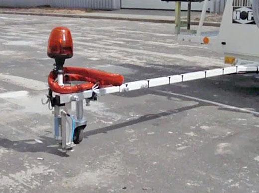 Vormarkierungseinrichtung - elektrisch mit maximaler Ausfahrweite von 5m