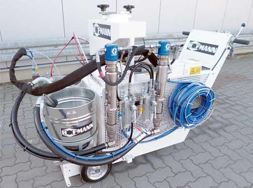 H9 Airless 2-componentes, relación de mezcla 1:1