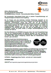 HOFMANN Info 277 [11/2014]