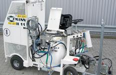 H11 para procedimiento Airless con bomba y depósito presurizado 120 l