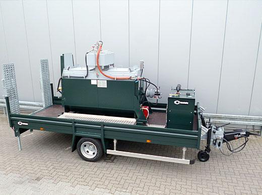 Série HG avec fondoir HK1000-1 et station d'énergie 10 kw