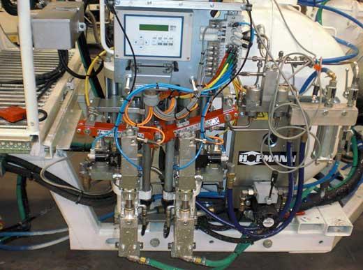 CONEX® Metering pump with infinitely, variable hardener pump