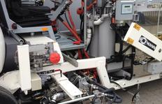 Dosierverfahren: Balgpumpe für spritzbare Thermoplastiken mit MALCON4E. 3-Linien-System möglich.