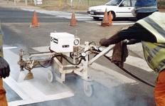 H75/25 para la aplicación de pinturas plásticas pulverizables