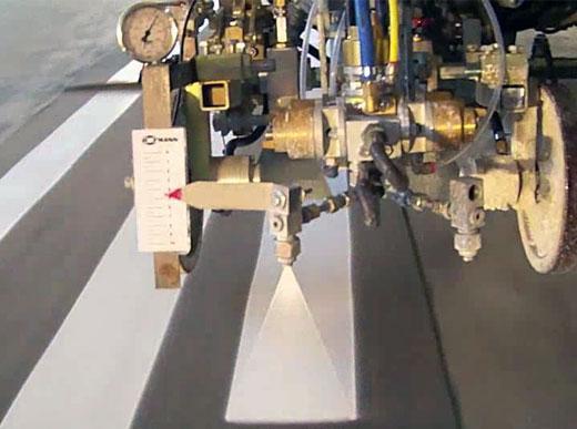 Stabilisateur de la largeur des lignes - vitesse élevées