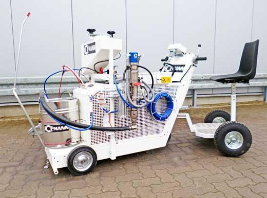 H9 AIrless with Trailer with driver seat