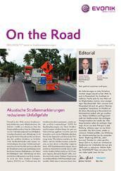 Akustische Straßenmarkierungen reduzieren Unfallgefahr