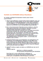 HOFMANN Info 374 [01/2009]