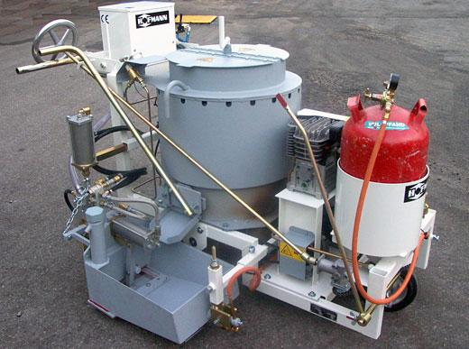 RP100-1H для нанесения термопластиков с кареткой 30 см