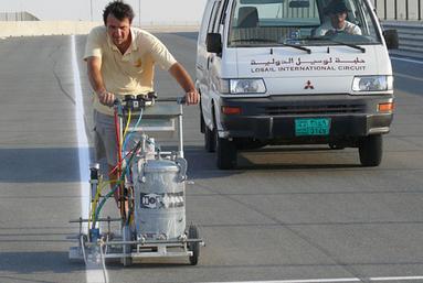 H5-1 im Einsatz auf dem Moto GP International Circuit in Doha / Katar