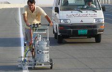 H5-1 en operación al Moto GP International Circuit en Doha / Catar