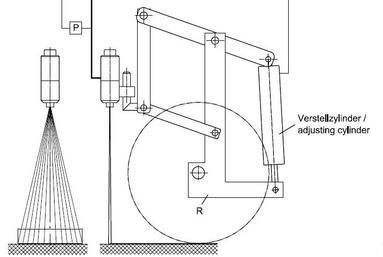 Устройство обеспечения постоянной ширины штриха на низкой скорости движения