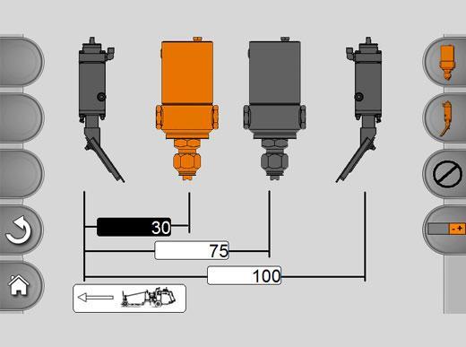 MALCON4 Activación de hasta cuatro unidades de marcaje dispuestas consecutivamente, como p. ej., pistolas de pintura y de esferas o obturadores del extrusor