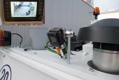 Rückfahrkamera für alle selbstfahrenden Maschinen