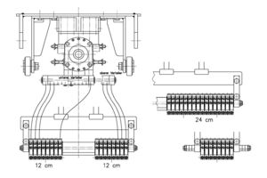 Modularer Aufbau des Spritzbalkens
