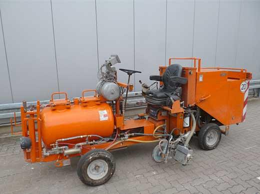 Offer 4440119: H16-2 HOFMANN Road Marking Machine for cold paints with pressurised container