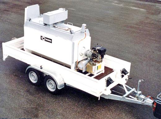 3000HG Remolque de transporte con caldera serie HK