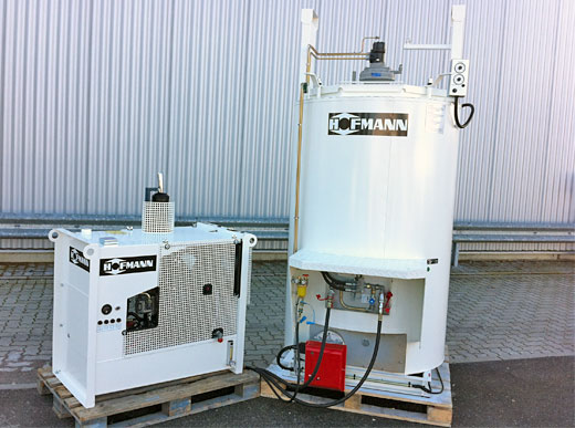 ID810 con quemador de diesel, estación energética de 10 kW, 220 V
