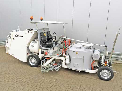 H33 para pinturas termoplásticas pulverizables con calentamiento de aire pulverizador