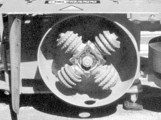 H92-1 Cruz fresadora de la borradora