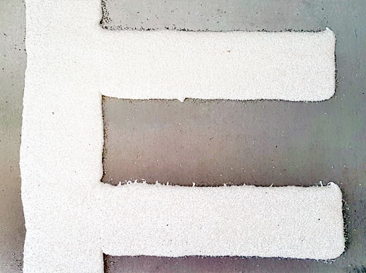 Pintura termoplástica : HOFMANN líneas perfiladas combinadas (Kamflex)
