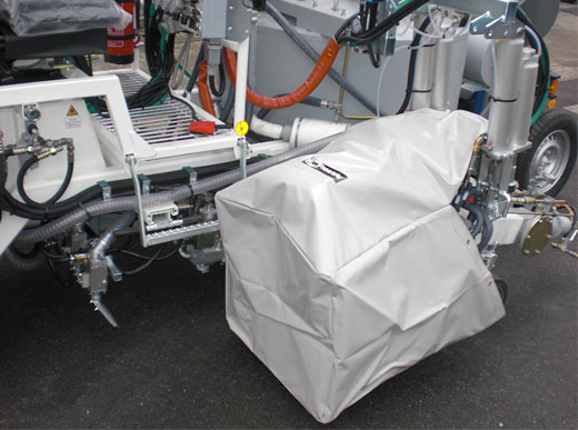 Envoltura protectora para sistemas de extrusores para extrusor MultiDotLine<sup>®</sup>