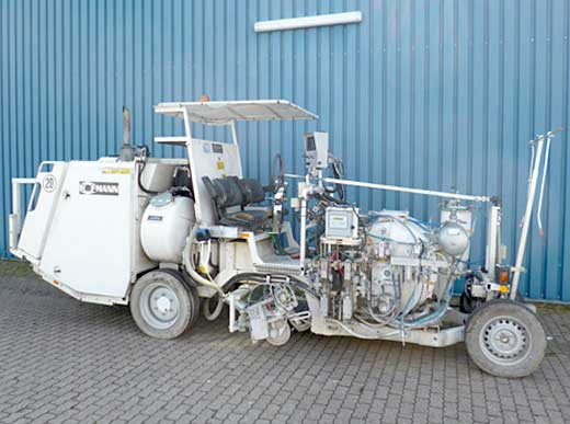 Offer 4440077: H33-3 HOFMANN Road Marking Machine for sprayable 2-component cold plastics M98:2