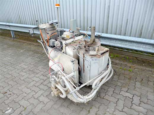 Offer 4440115: H9-1 Sprayplastik HOFMANN Road Marking Machine for sprayable thermoplastics