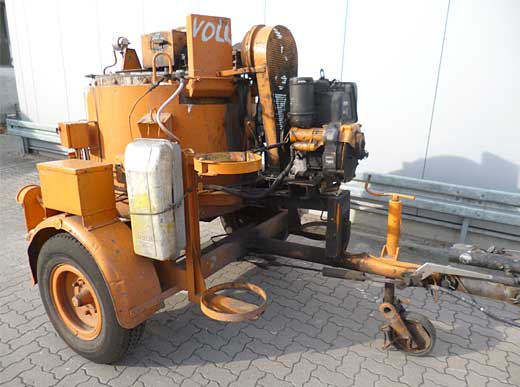 Offer 4440121: Trailer and Preheater Type: AK05 HENNE Trailer and Preheater